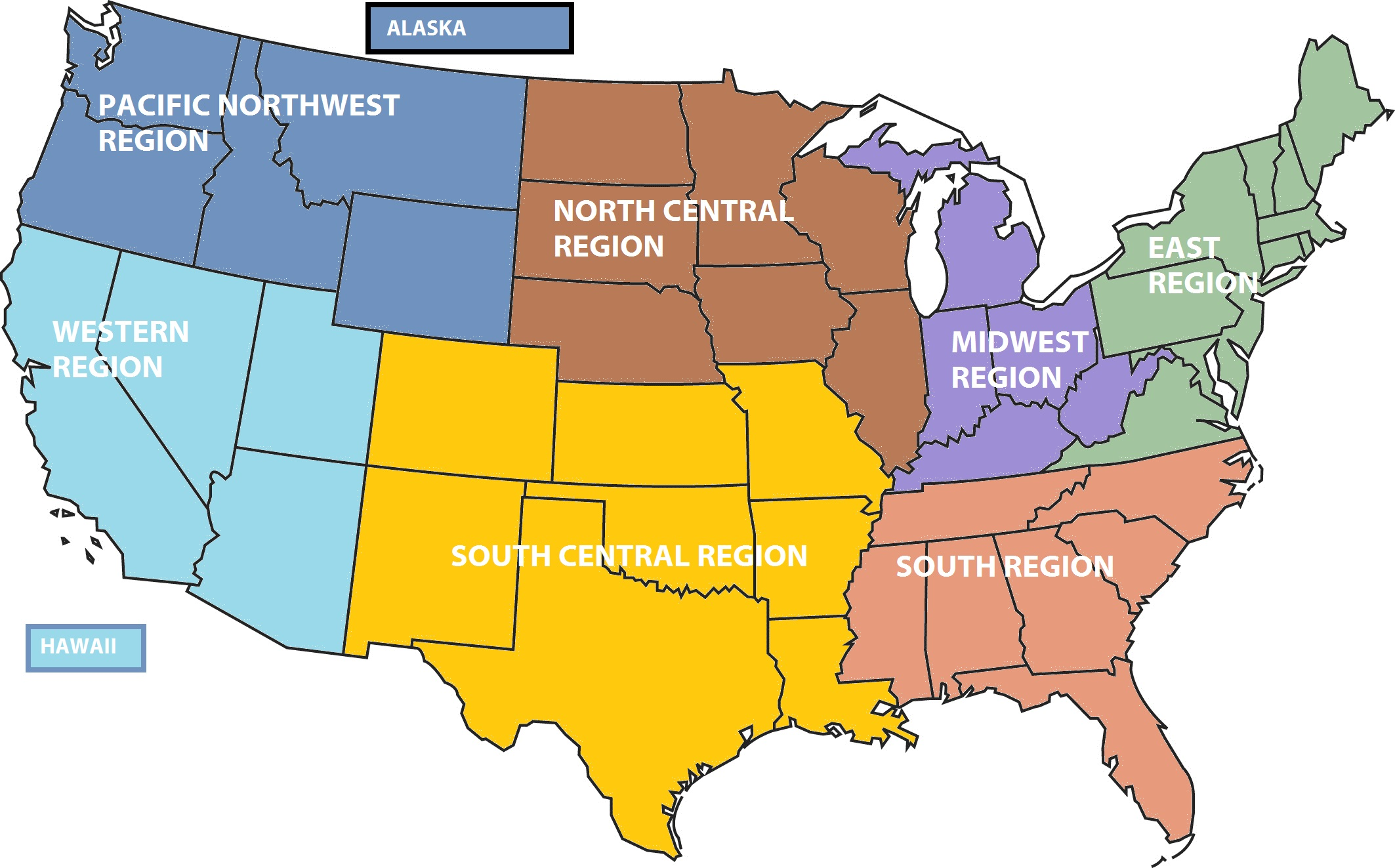The Cardinal Directions Geography Song YouTube East Coast USA - Us map east west midwest